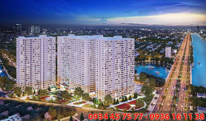 tổng thể căn hộ city gate tower 3