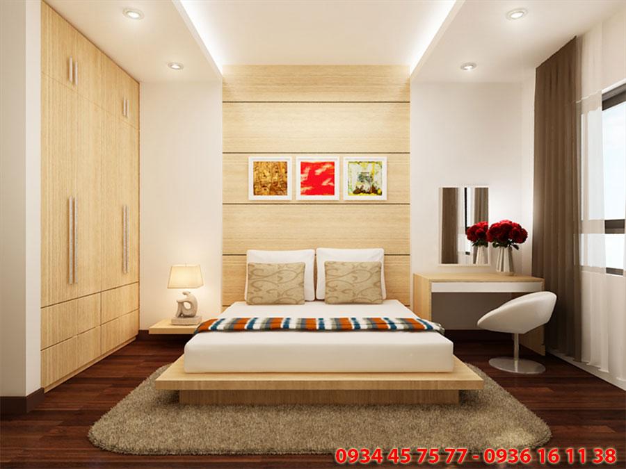 Phòng ngủ nhỏ Dự án Căn hộ the Elysium Quận 7